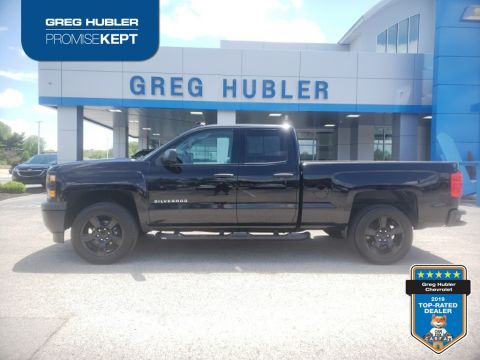 Pre-Owned 2015 Chevrolet Silverado 1500 WT RWD 4D Double Cab