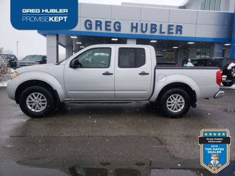 Pre-Owned 2019 Nissan Frontier SV 4WD 4D Crew Cab