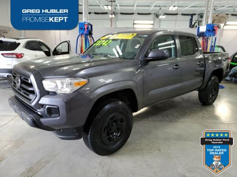 Pre-Owned 2019 Toyota Tacoma SR 4WD 4D Double Cab