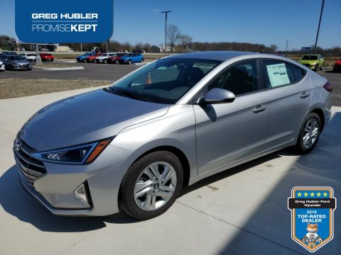 New 2020 Hyundai Elantra SEL FWD 4D Sedan